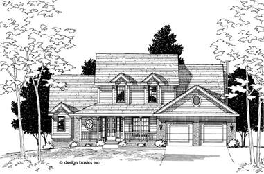 Main image for house plan # 6167
