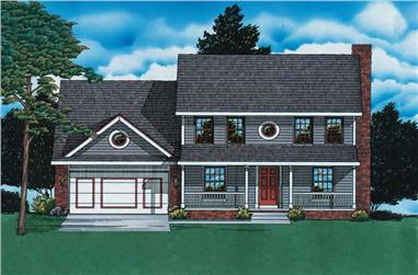Main image for house plan # 6168