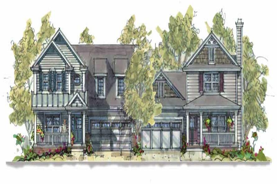 Main image for house plan # 6413