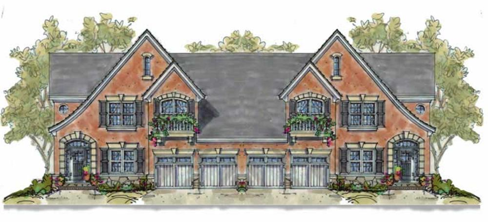 Main image for house plan # 6411