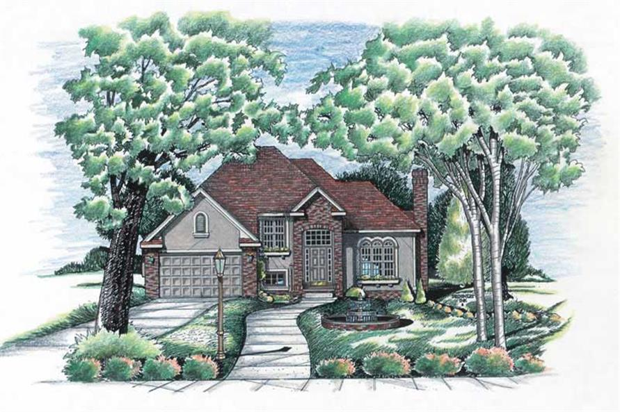 Main image for house plan # 6204