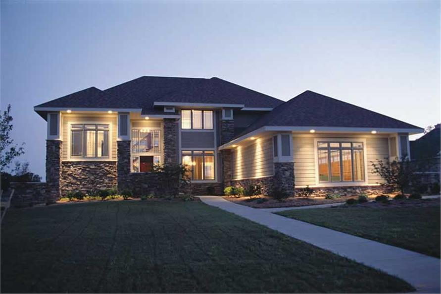 Home Exterior Photograph of this 4-Bedroom,2576 Sq Ft Plan -120-1566