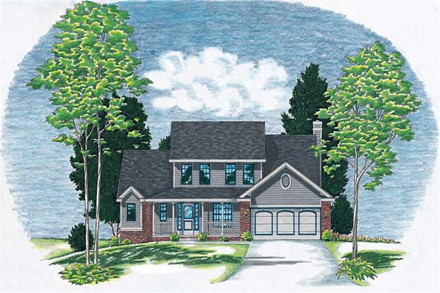 Main image for house plan # 6166