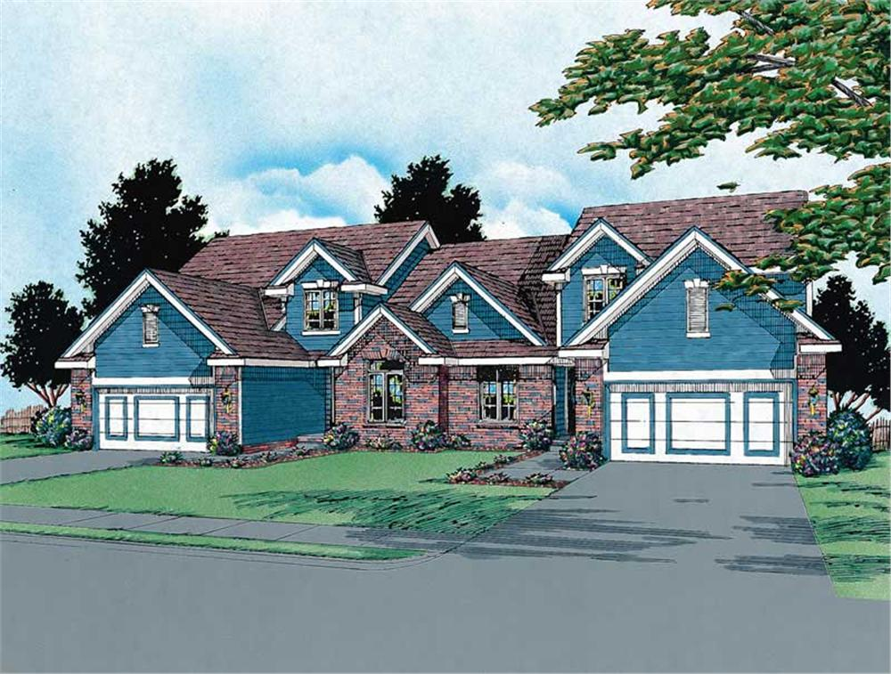 Main image for house plan # 6196