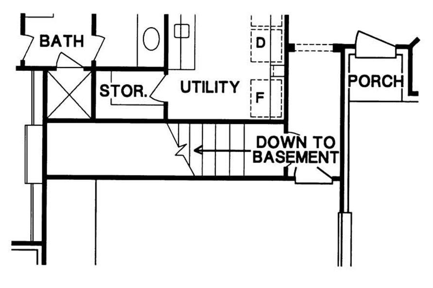 Stairway to Basement