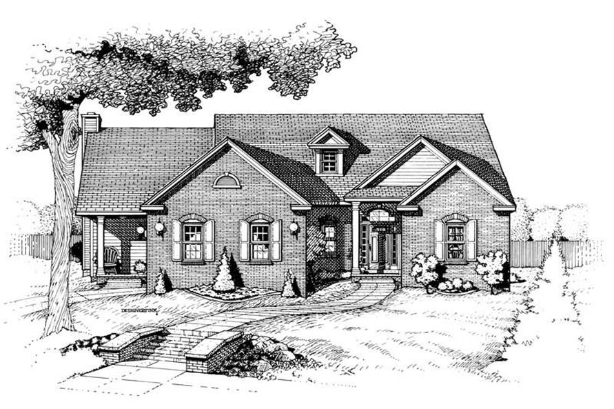 Main image for house plan # 6308