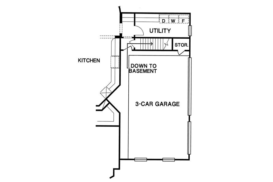Optional Floor Plan of this 4-Bedroom,3774 Sq Ft Plan -3774