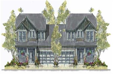 Main image for house plan # 6406