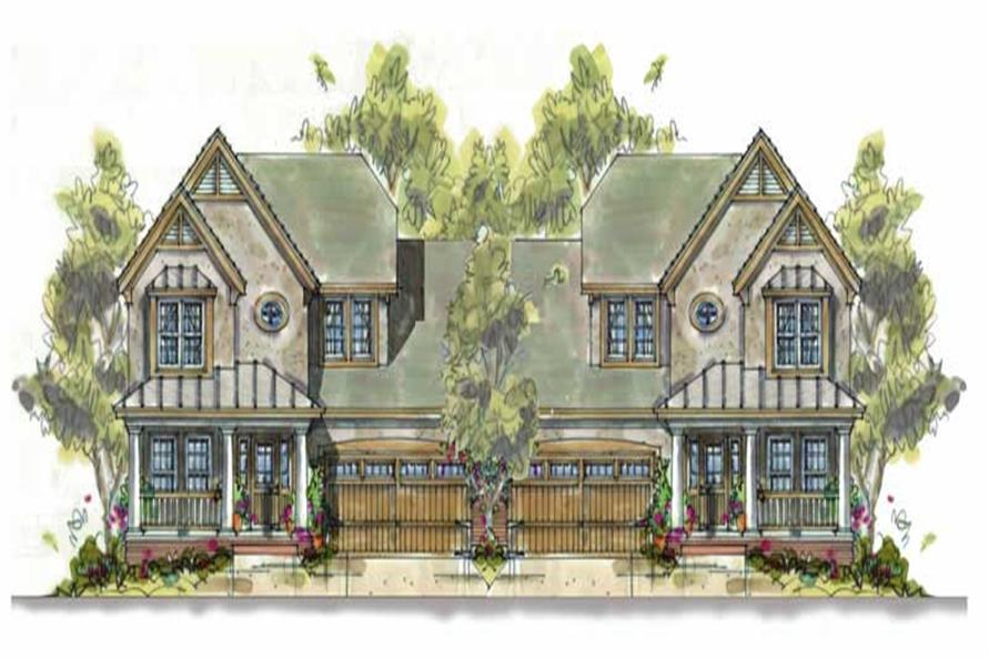 Main image for house plan # 6405
