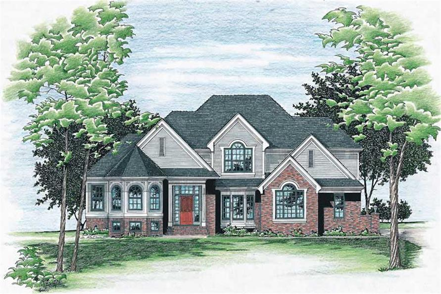 Main image for house plan # 6108