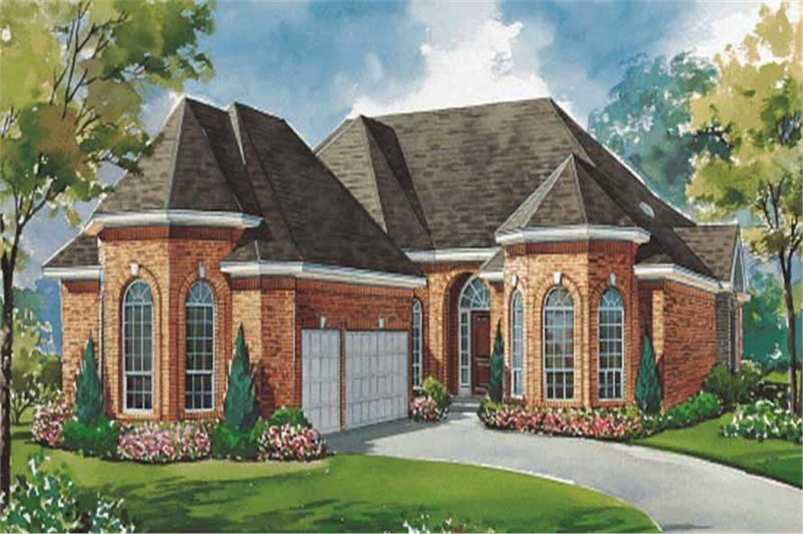 Main image for house plan # 6438