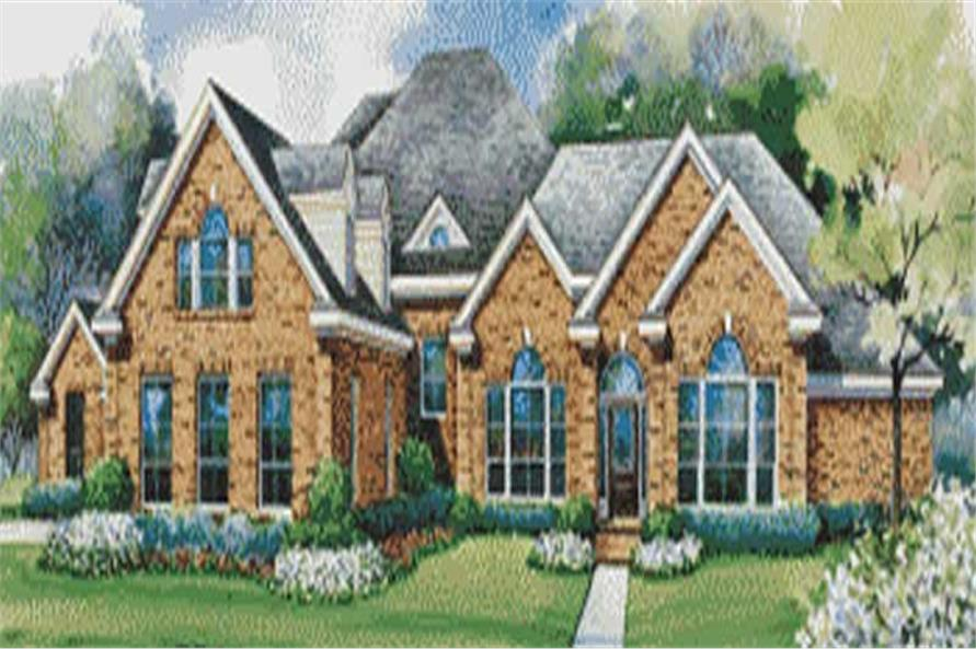Main image for house plan # 6446