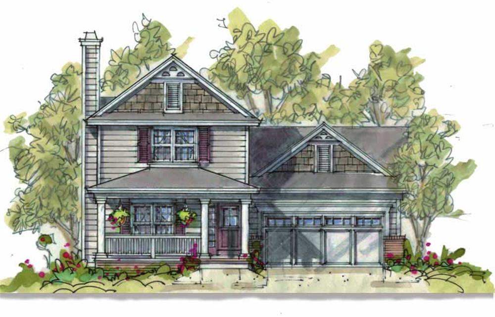 Main image for house plan # 6390