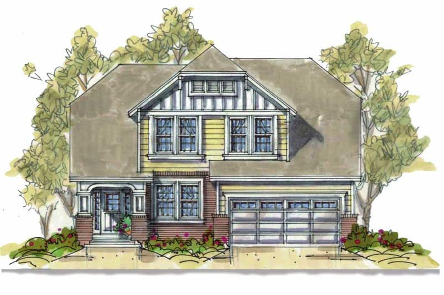 Main image for house plan # 6395