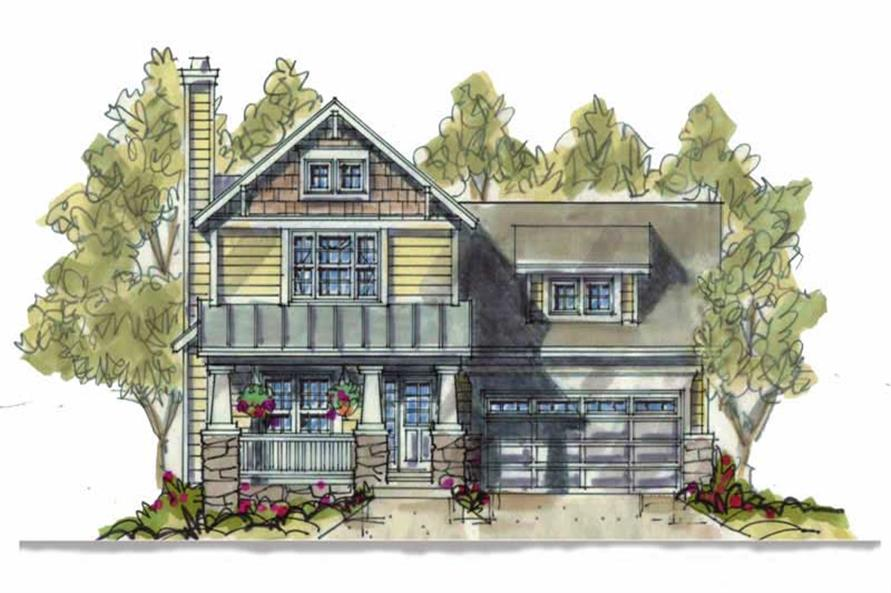 Main image for house plan # 6392