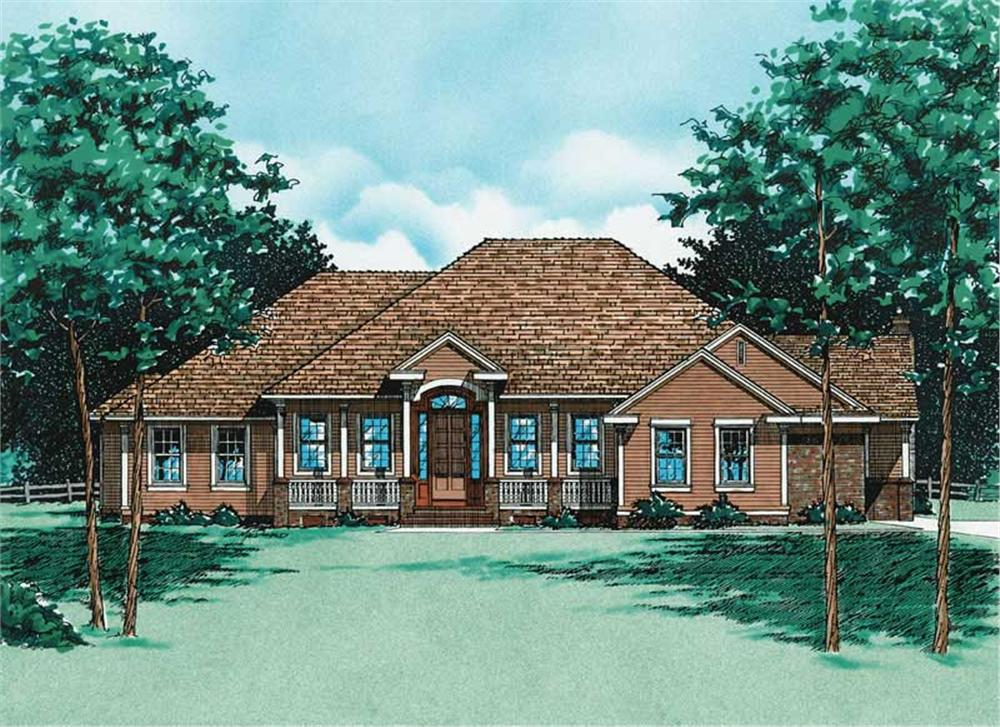 Main image for house plan # 6071