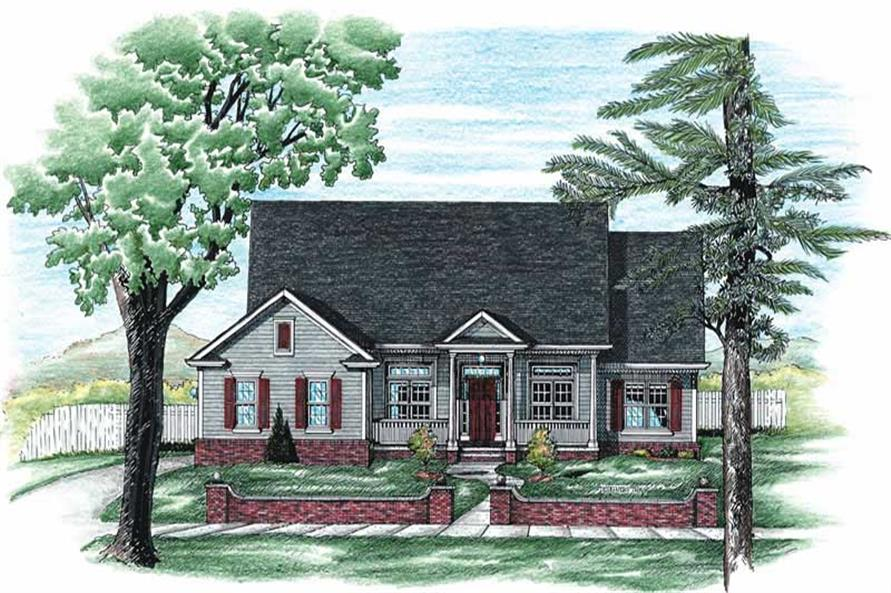 Main image for house plan # 6333