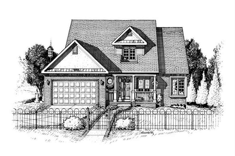 Main image for house plan # 6317