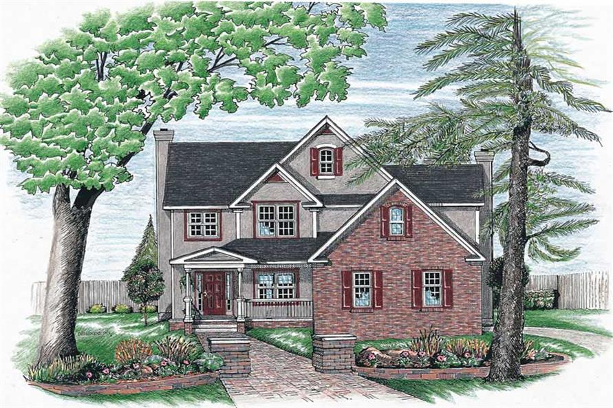 Main image for house plan # 6346