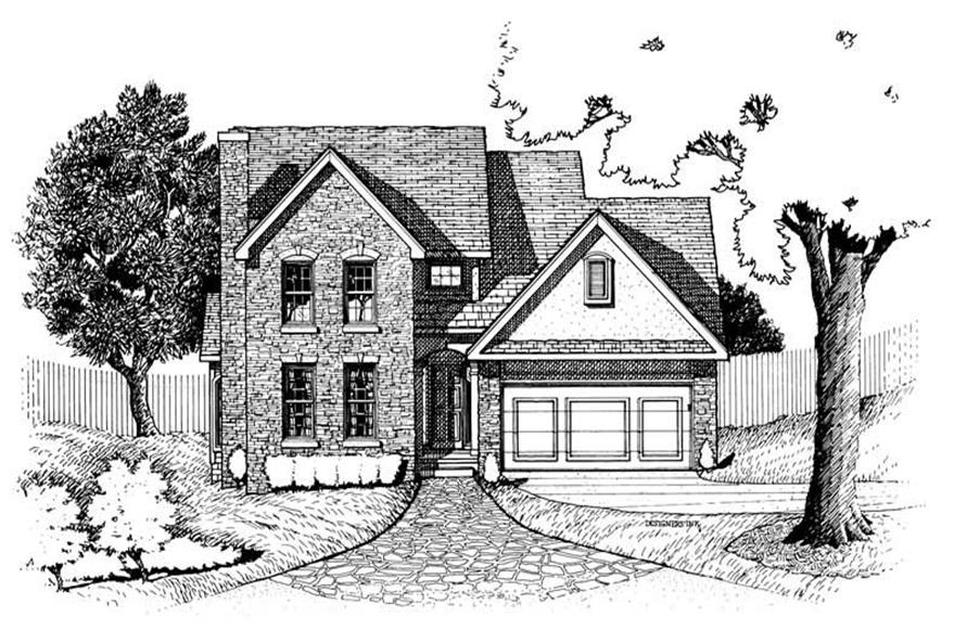 Main image for house plan # 6293