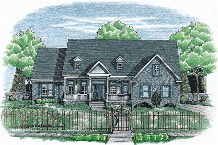 Main image for house plan # 6340