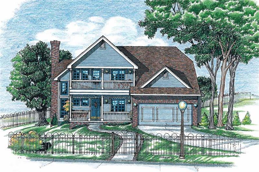 Main image for house plan # 6299