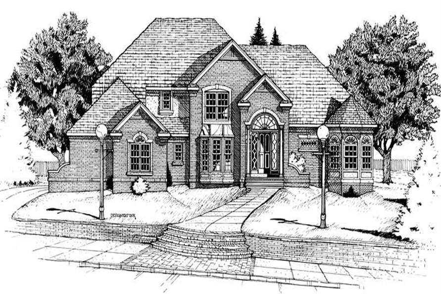 Main image for house plan # 6272