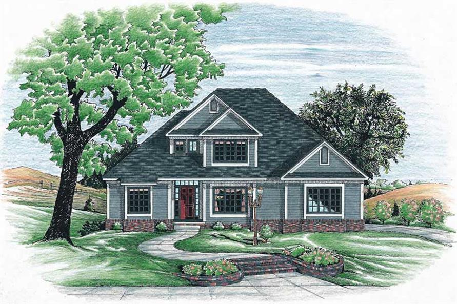 Main image for house plan # 6270