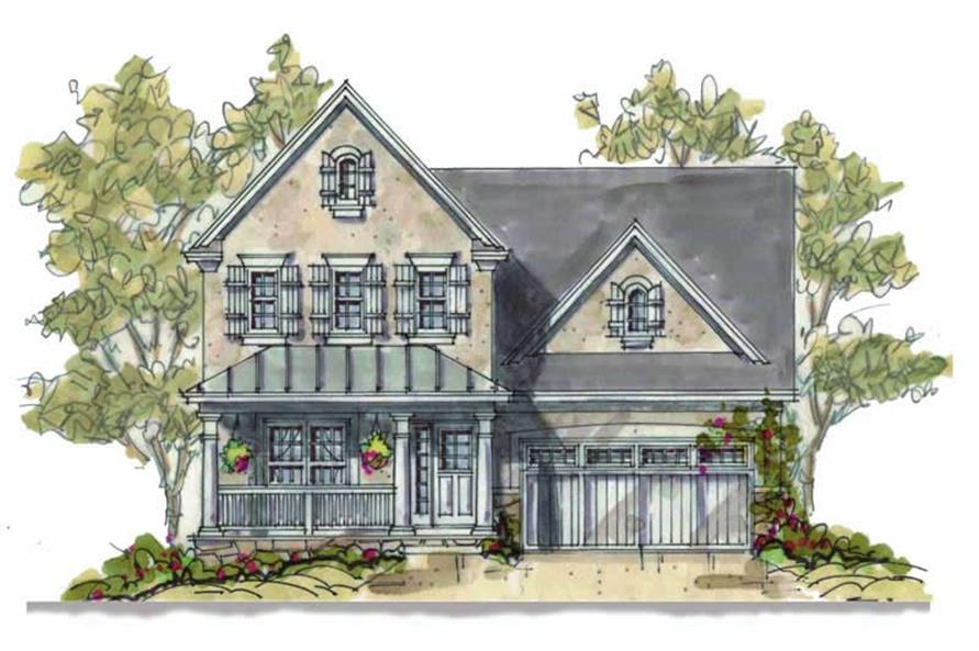 Main image for house plan # 6388