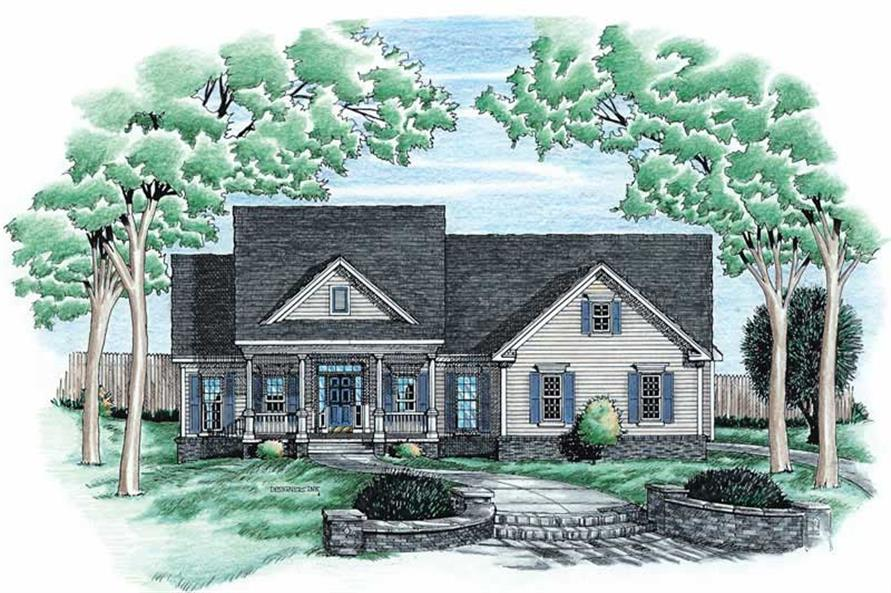 Main image for house plan # 6271