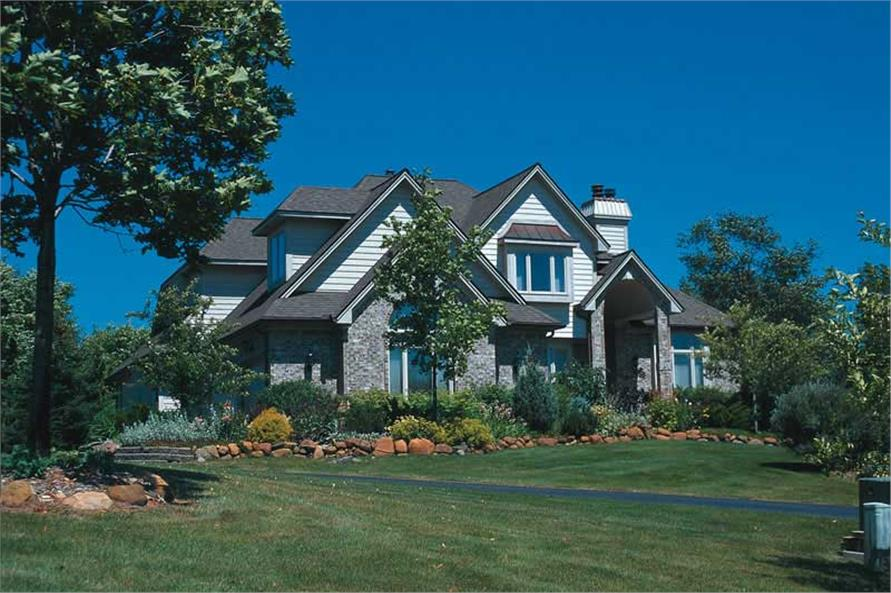 Exterior Photo of this 4-Bedroom,2708 Sq Ft Plan -2708