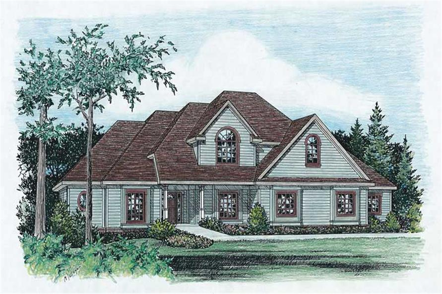 Main image for house plan # 5507