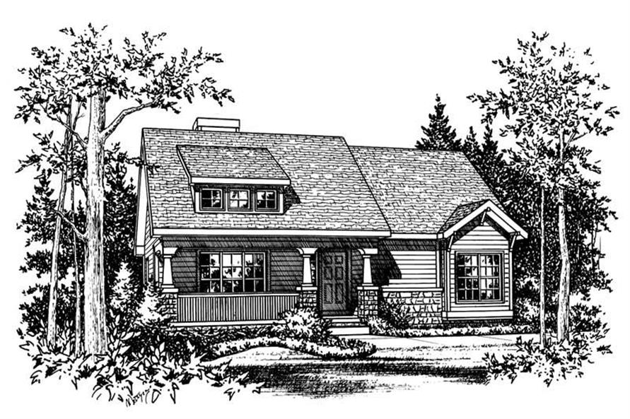Main image for house plan # 5481