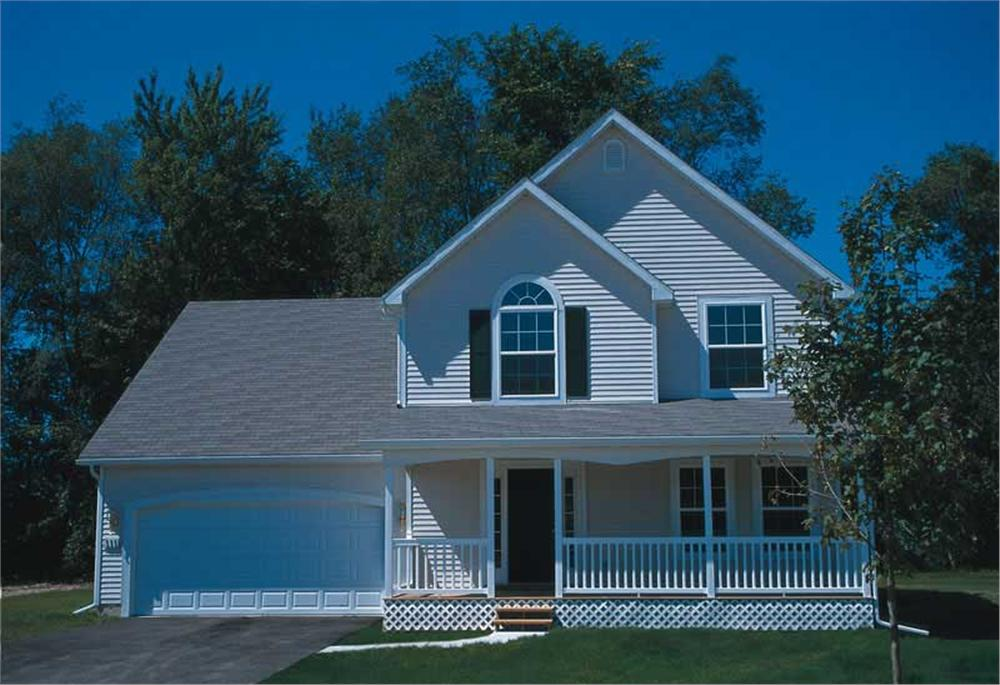Main image for house plan # 5480