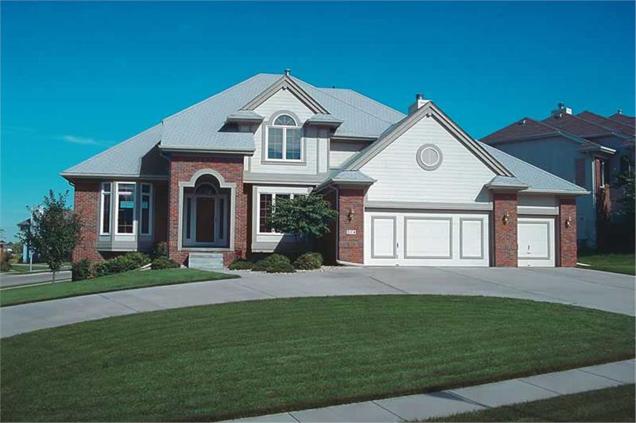 Main image for house plan # 5318