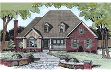 Main image for house plan # 5469