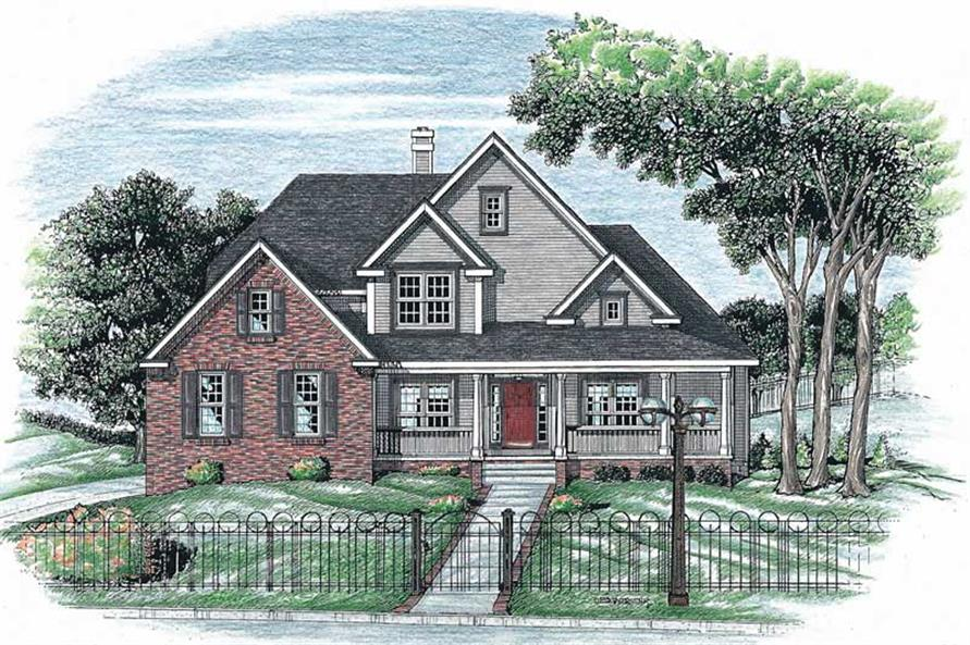 Main image for house plan # 5466