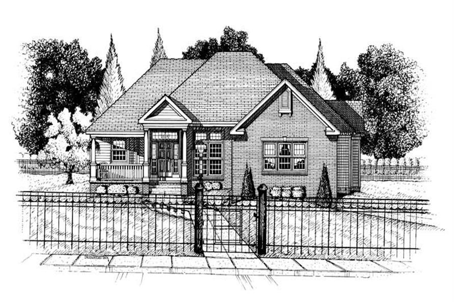 Main image for house plan # 5461