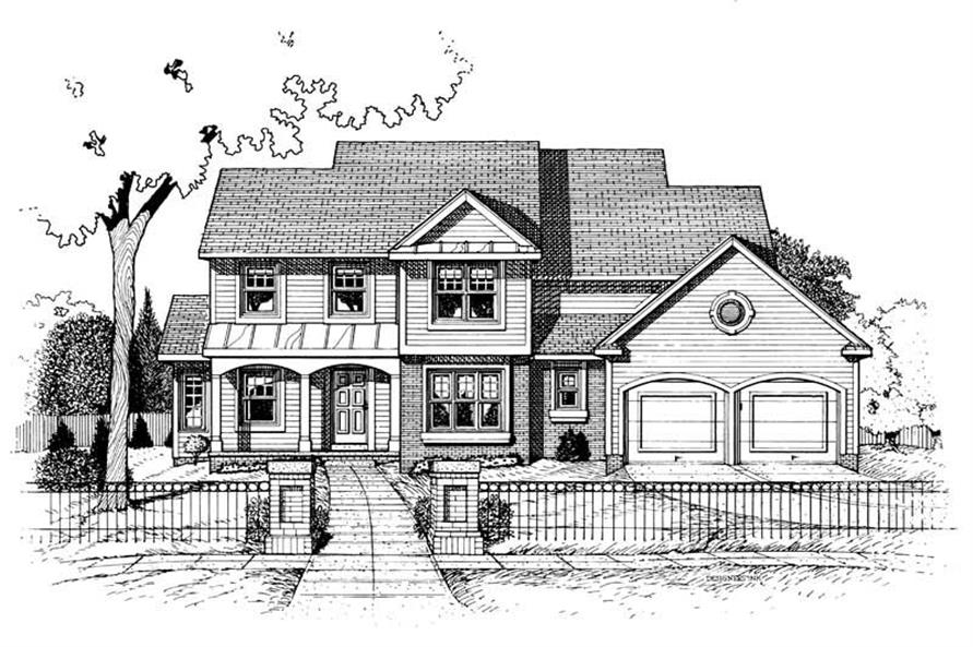 Main image for house plan # 5460