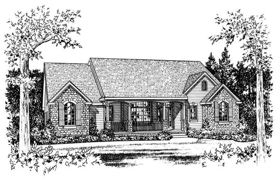 Main image for house plan # 5473