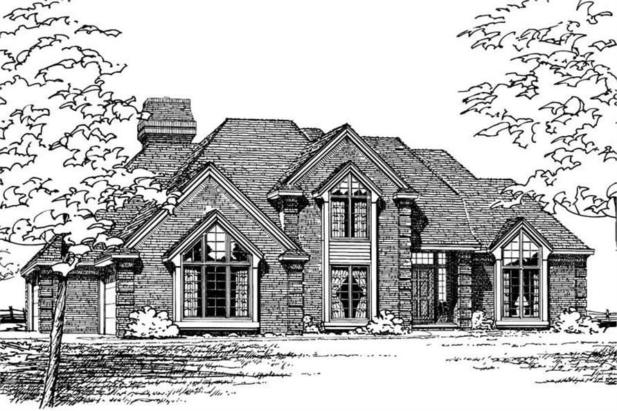 Main image for house plan # 5165