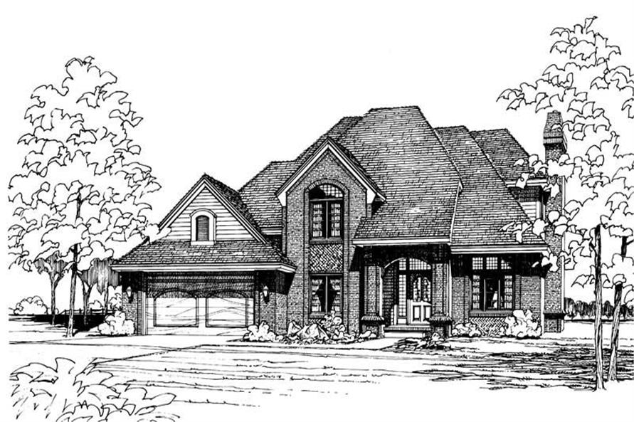 Main image for house plan # 5144