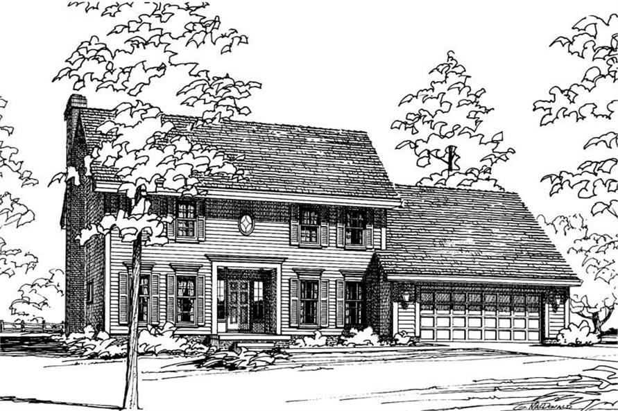 Main image for house plan # 5135