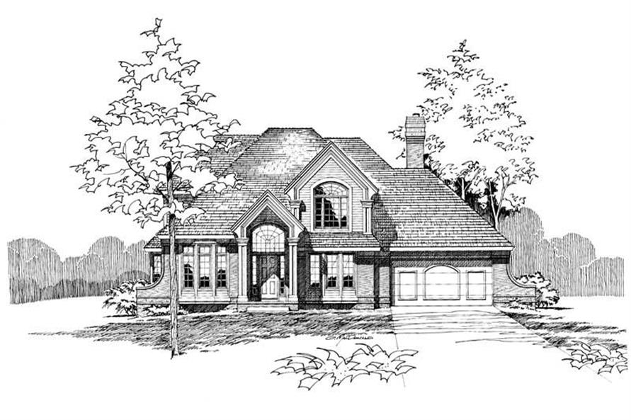 Main image for house plan # 5272