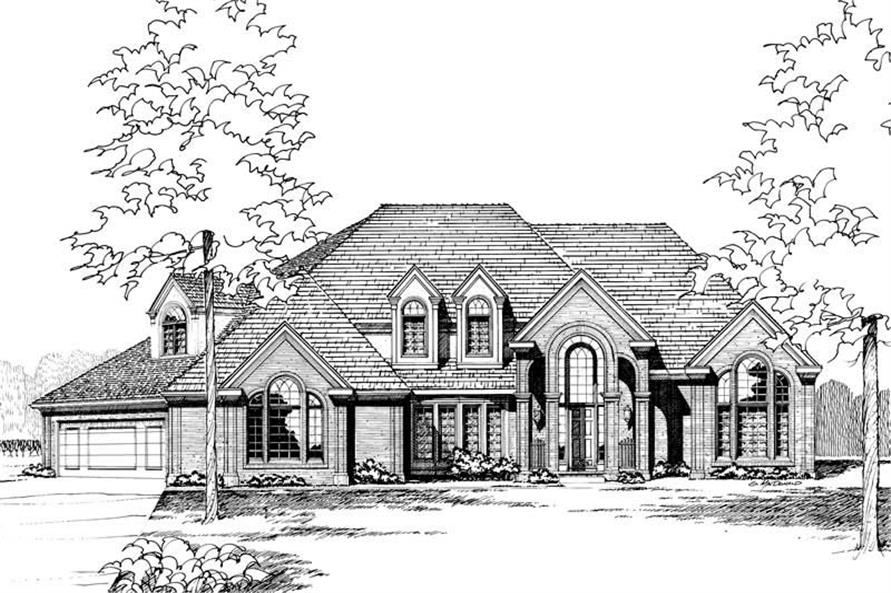 Main image for house plan # 5266