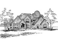 Main image for house plan # 5235