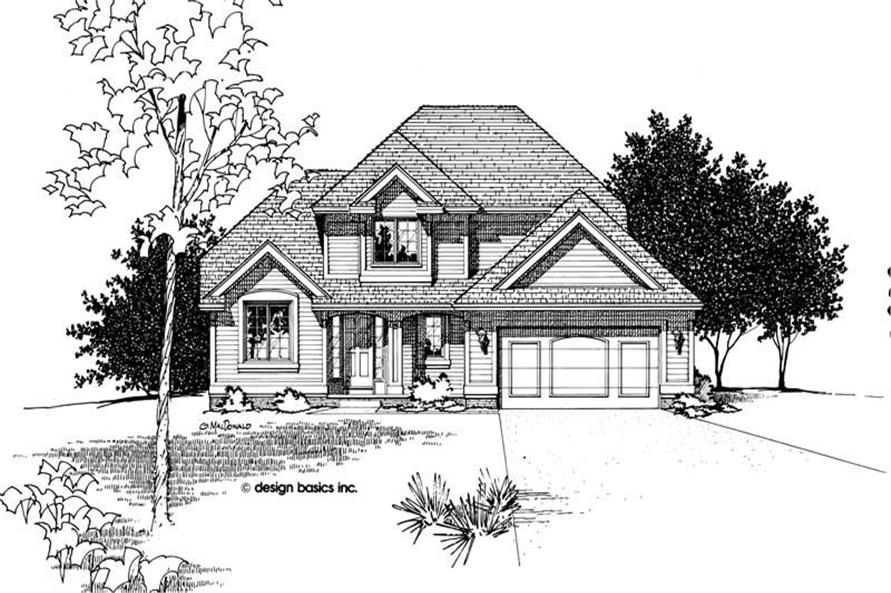 Main image for house plan # 6087
