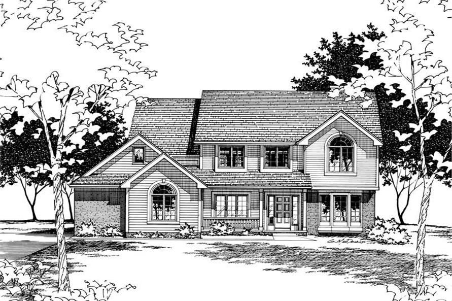 Main image for house plan # 6111