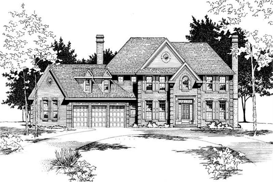 Main image for house plan # 6102