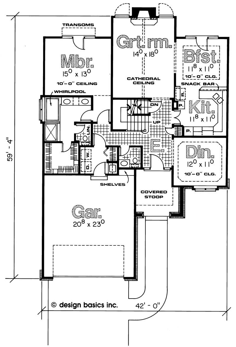 House plan 120 1795 4 bedroom 2019 sq ft traditional for 110 sq ft bedroom design